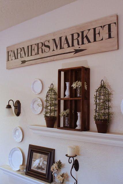 Handpainted Farmers Market Sign