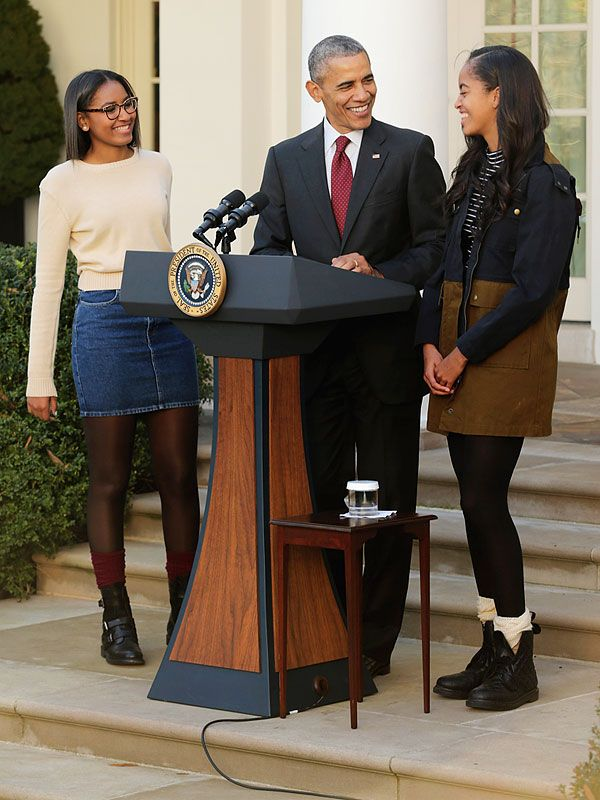 Sasha and Malia Obama's Turkey Pardon Outfits May Be Worth Copying for Your Festivities Tomorrow http://stylenews.peoplestylewatch.com/2015/11/25/2015-turkey-pardon-sasha-obama-outfit-malia-obama-outfit/