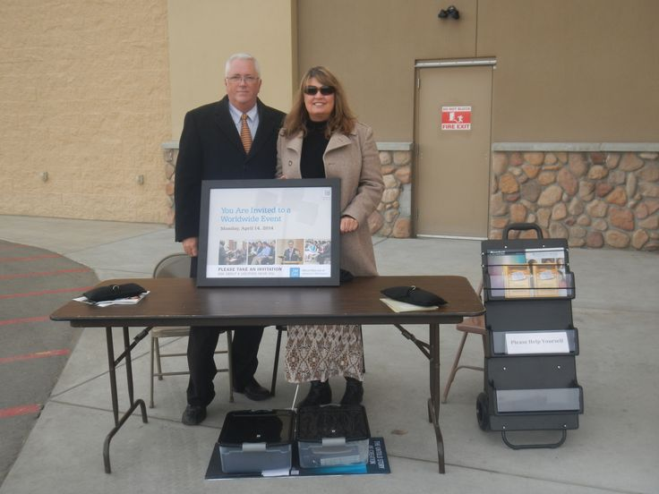 Public Witnessing at WalMart in Laurel, MT My lovely friends, Carol and Tommy. <3