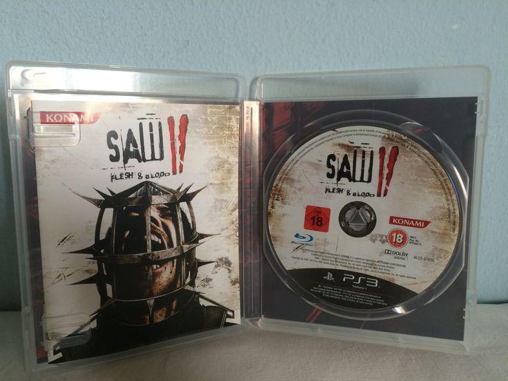 Saw II Flesh & Blood game opened.