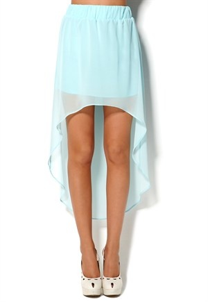 : High Low Skirts Outfits, Dreams Closet, Mint Skirts, Highlow, High Low Lights Blue Skirts, Color, Carolina Blue, Mint Green Skirts, Maxi Skirts