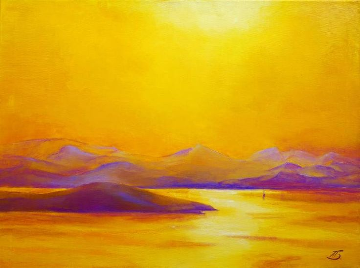 "Saatchi Art Artist Tatiana Bugaenko; Painting, ""Islands"" #art  1790$"
