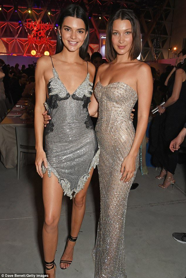Double trouble! Kendall Jenner and Bella Hadid brought some serious razzle dazzle to the Fashion for Relief gala dinner in Cannes on Sunday night