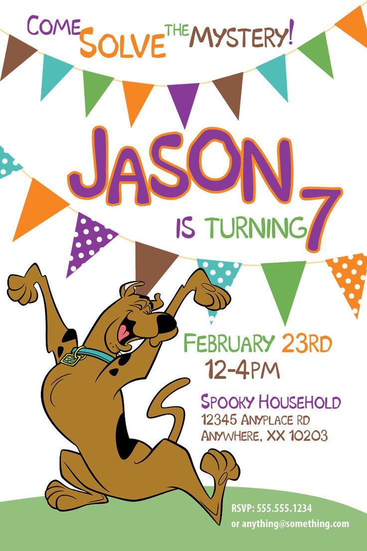 21 best Scooby Doo Bday! images on Pinterest | Party ideas ...