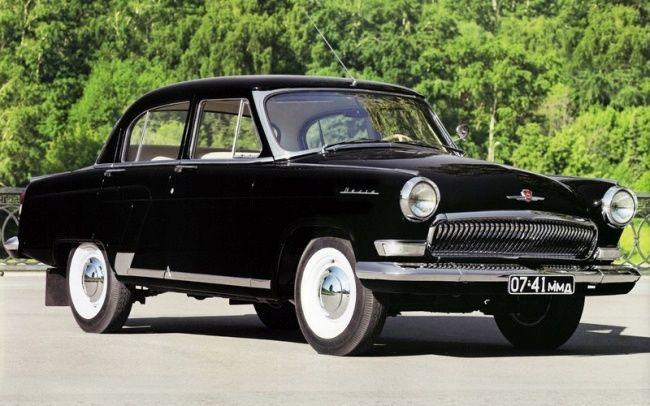 ГАЗ-23 «Волга» годы выпуска 1962-1970