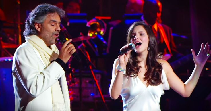 Katharine McPhee and Andrea Bocelli Sing 'The Prayer' - Music Video