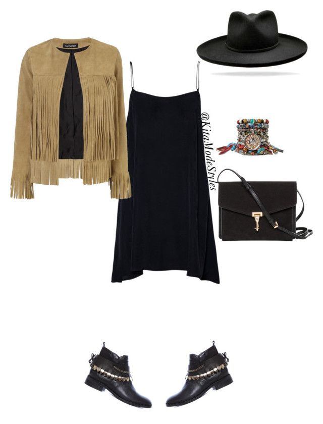 Fringe jackets for the win by kitamode on Polyvore featuring ThePerfext, Burberry and INDIE HAIR