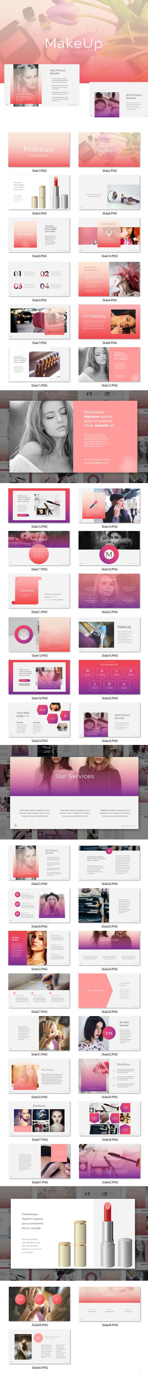 Makeup - PowerPoint Template