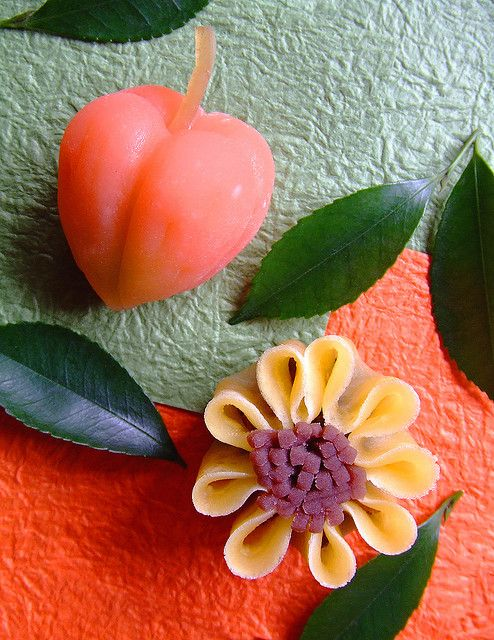 August Wagashi by bananagranola (busy), via Flickr
