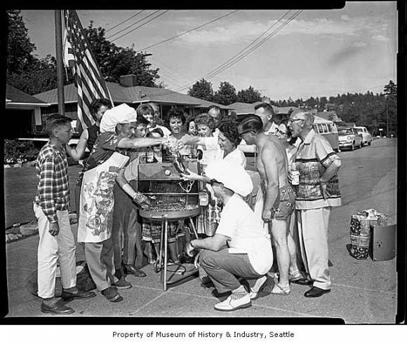 1961 Seattle 4th of July BBQ