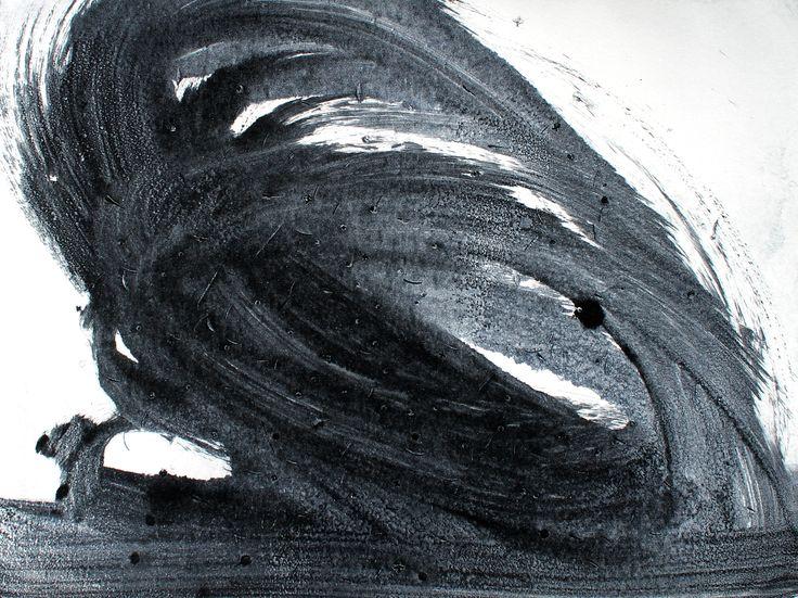 Zephyr Series (2) 24cm x 18cm  Oil on paper