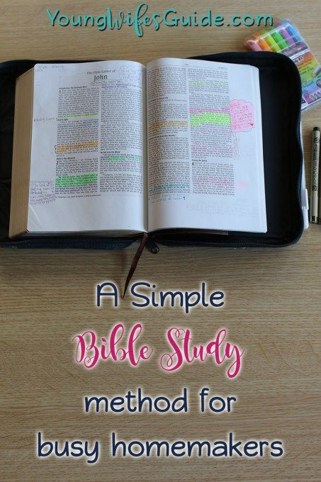 My Simple Bible Reading Plan for Deeper Study (as a busy homemaker)