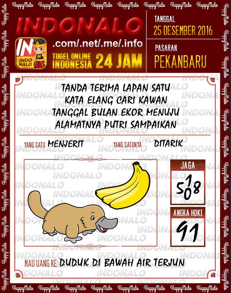 Kode Wangsit 2D Togel Wap Online Live Draw 4D Indonalo Pekanbaru 25 Desember 2016