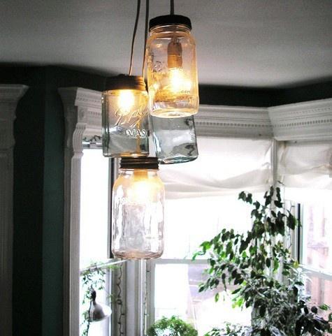 DIY LIGHTING- Mason Jar lights