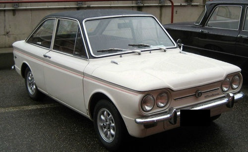 1967 Sunbeam Stiletto - Really just a rebadged Hillman Imp with a Fastback.