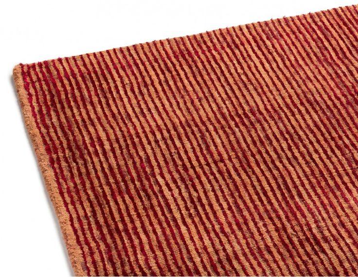PAOLO Tapis en laine et en viscose fait à la main 274x183cm | Structube