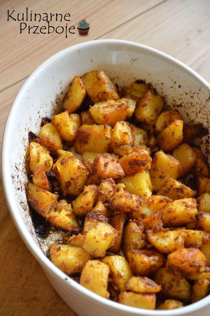 Pieczone ziemniaki w piekarniku, Pieczone ziemniaki, ziemniaki w piekarniku, ziemniaki z piekarnika, Pieczone ziemniaki z piekarnika, chrupiące ziemniaczki