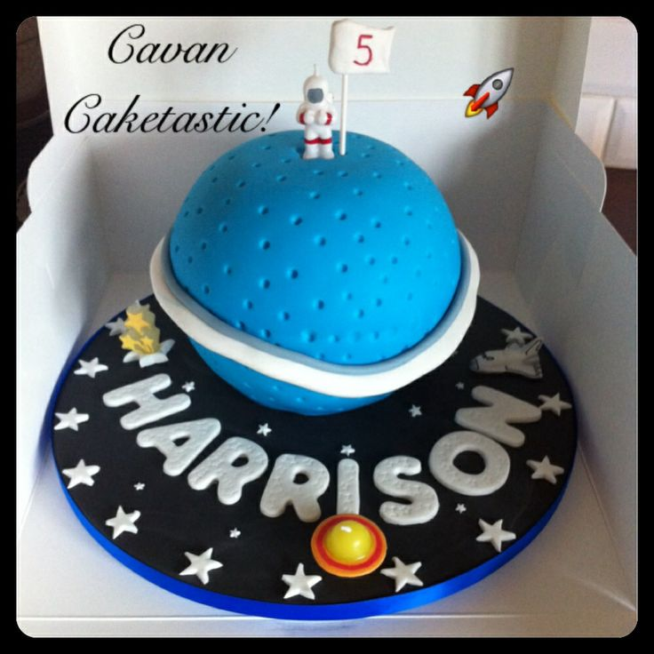 Outer Space Planet Cake Cakes Galore Pinterest