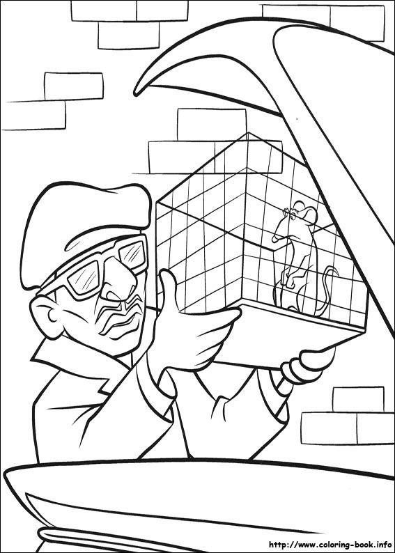 Nice Ratatouille 52 Coloring Page