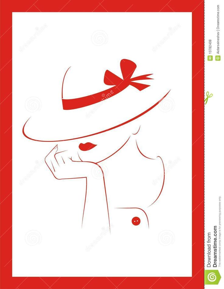 силуэт элегантной девушки в шляпе: 12 тыс изображений найдено в Яндекс.Картинках