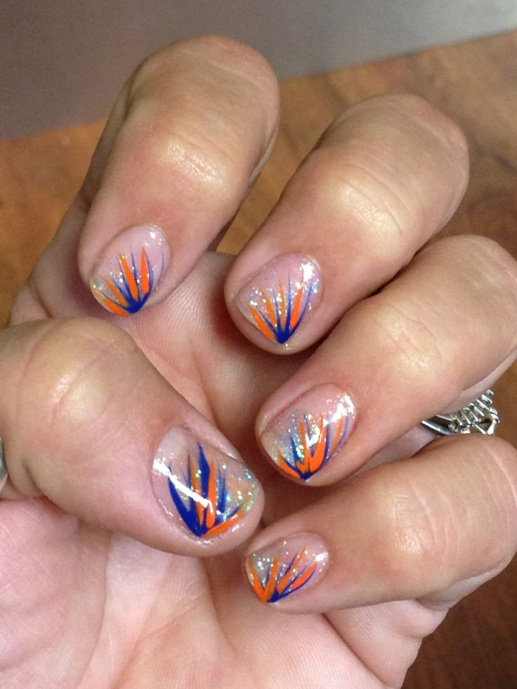 Go Gators! - 25+ Unique Broncos Nails Ideas On Pinterest Denver Broncos Nails