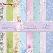 Dream Land Papier pakket 24 vel 15,2x15,2cm