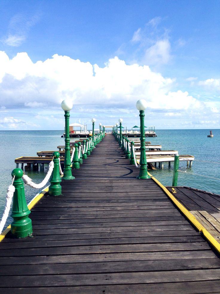 Beautiful boat dock. Isla Palma, Colombia.