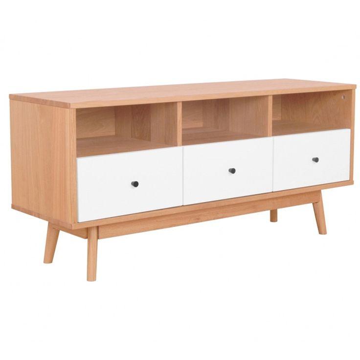 Torsby TV Unit - Scandinavian Furniture 27% OFF   $379.00 - Milan Direct