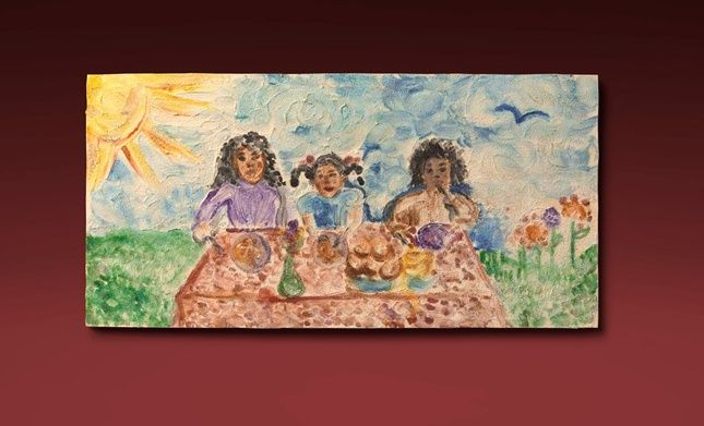 Paint a family picture—or any design—in the style of famous painters such as Michelangelo! Texture and glow add to their uniqueness!