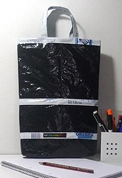 Bolsa con re-uso de sachet por AfueraDentro