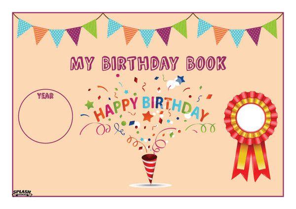 My Birthday Book – Splash Resources