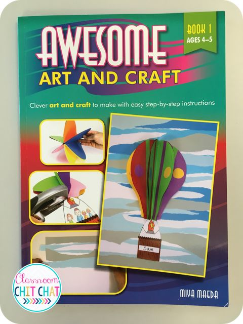 Review of Awesome art and craft from RIC Publications