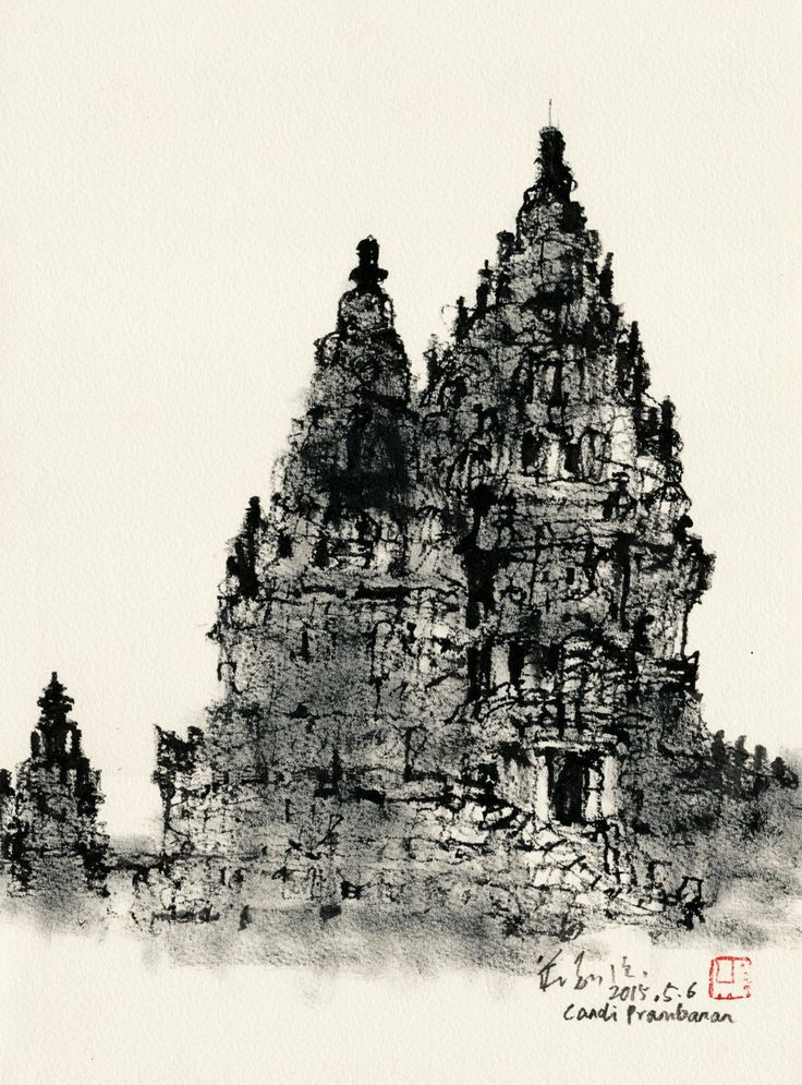 Line Art Yogyakarta : Best sketches doodles and drawings images on