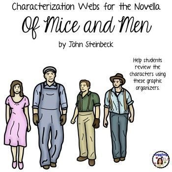 an analysis of the novel of mice and men by john steinbeck Both carried tight blanket rolls slung over their shoulders the first man was small and quick, dark of face, with restless eyes and sharp.