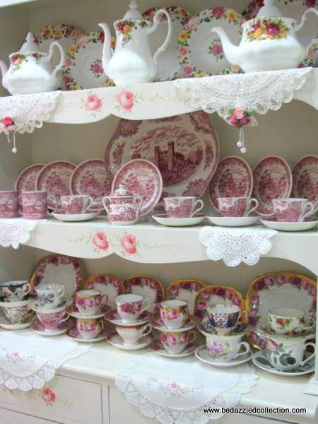 Be Dazzled Collection: Red Transferware