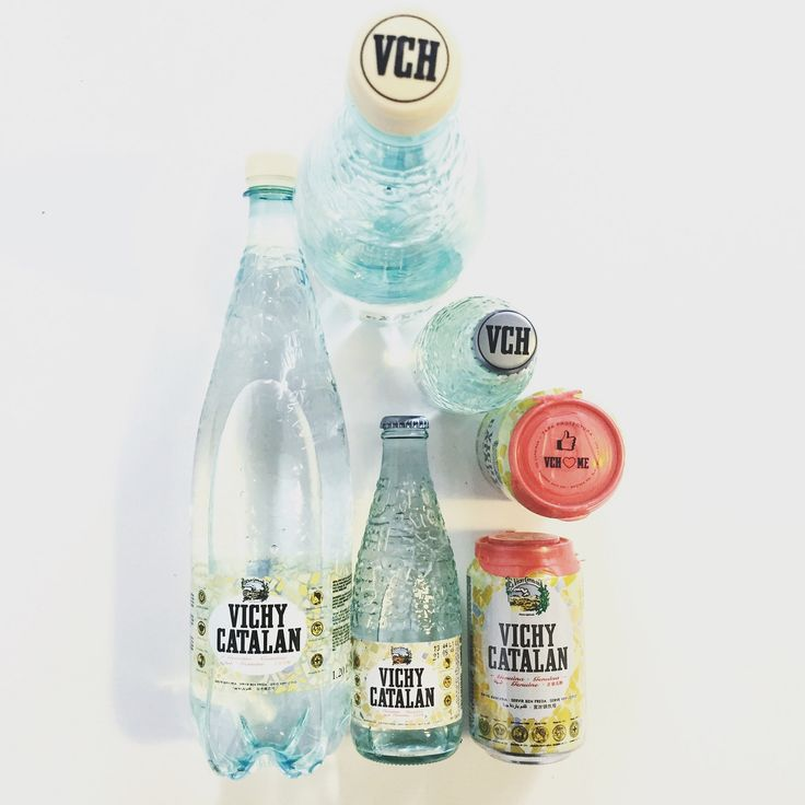 https://flic.kr/p/z25oHB | Gama completa de Vichy Catalan genuina: en vidrio, en lata, en PET