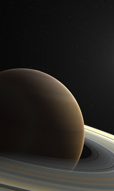 Download Wallpaper 480x800 Saturn, Planet, Ring, Star HTC, Samsung Galaxy S2/2, Ace 480x800 HD Background
