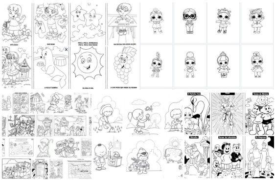 1000 Desenhos Para Colorir Para Voce Imprimir E E Gratis