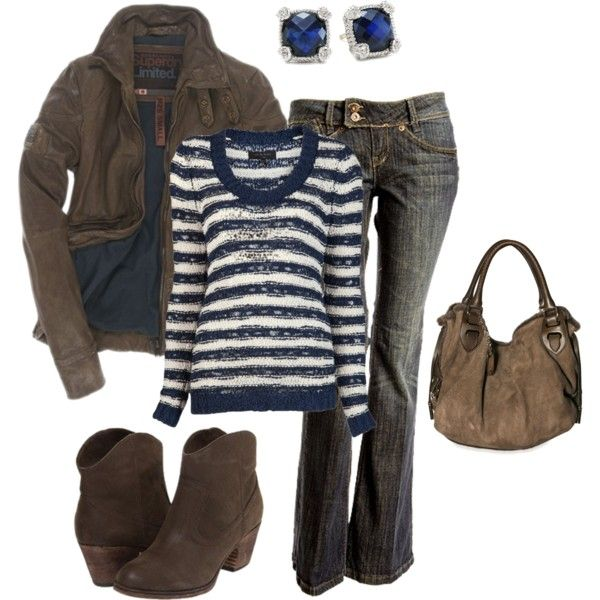 A fashion look from October 2013 featuring rag & bone sweaters, Superdry jackets and Bally handbags. Browse and shop related looks.