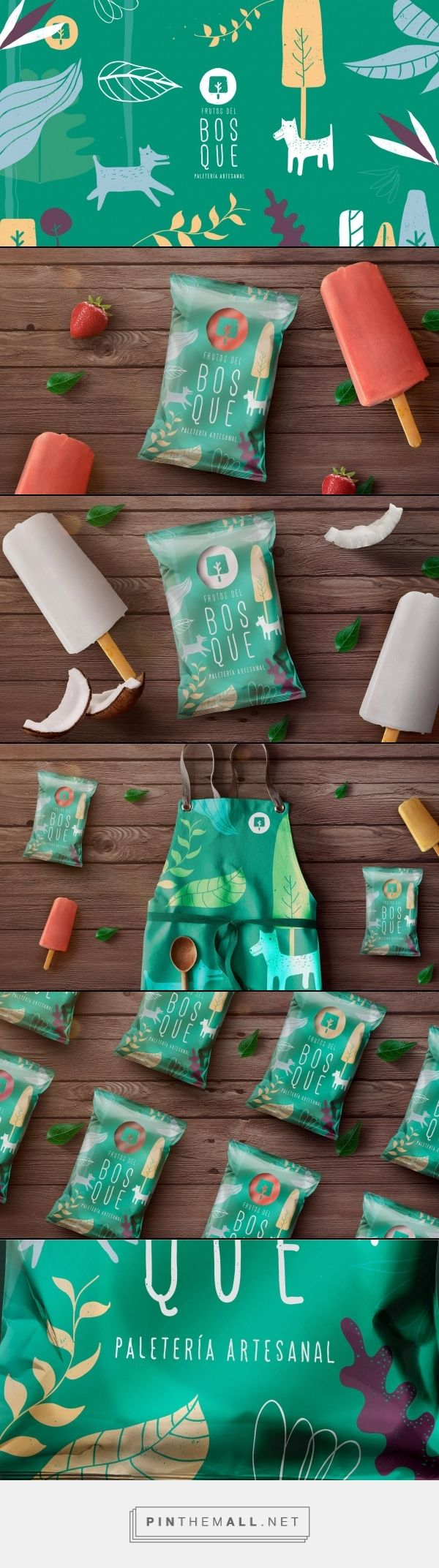 Frutos Del Bosque Packaging by Creamos Agency | Fivestar Branding Agency – Design and Branding Agency & Curated Inspiration Gallery #foodpackaging #packaging #package #design #designinspiration #packaginginspiration