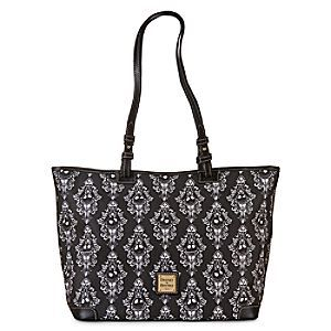 Disney Jack Skellington Shopper Tote by Dooney & Bourke | Disney StoreJack Skellington Shopper Tote by Dooney & Bourke - Carry your Halloween treats or Christmas Town presents in our spacious leather tote by Dooney & Bourke. Featuring Jack Skellington against a haunting filigree pattern, this fine fashion bag will impress the Pumpkin King himself.