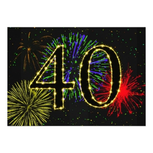 41 best 40th birthday party invitations images on pinterest 40th birthday party invitate card filmwisefo
