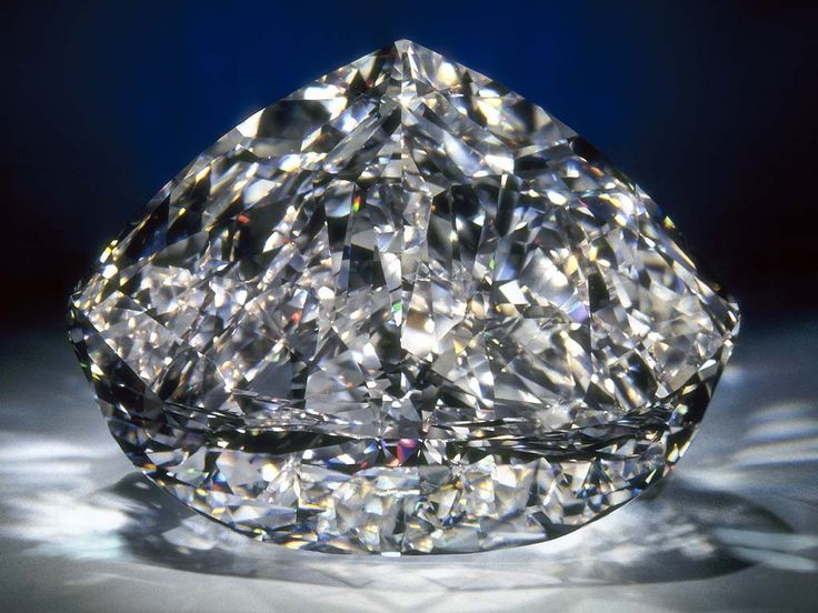 """The Centenary Diamond. This is the largest D-flawless cut diamond in the world. It is cut into a """"turban""""/""""maharajah"""" shape. It took 3 years to have this diamond cut into 247 facets and to polish it. How big is it? 237.85 carats. Its estimated value is at least USD 100 million."""