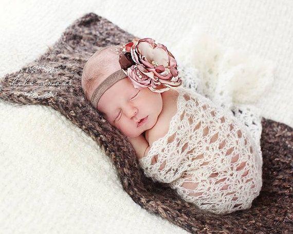 Instant download newborn mohair wrap crochet pattern pdf newborn photography prop 2 styles 2 patterns in 1
