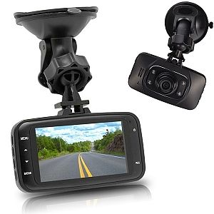 "GS8000L Novatek 2.7"" TFT LCD 1080P FHD 120-Degree Wide Angle Lens Motion Detection Car DVR - Black"