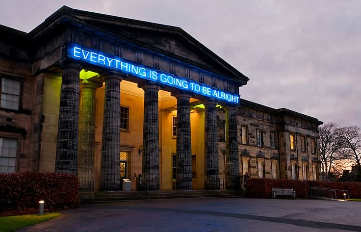 edinburgh museum everything is going to be alright - Google Search