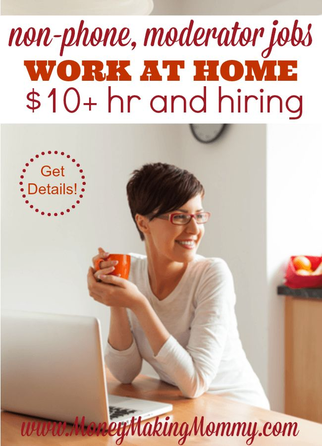 Like the Idea of Working at Home as a Moderator?