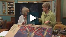 Learn landscape quilting using this simplistic approach & easy techniques. Nancy and her quilting mentor Natalie Sewell streamline the landscape quilting process using a beginner's prospective. Learn to use inspirational photos, choose fabric, and master messy & fussy cutting techniques. Create trees easily with raw-edge appliqué techniques & give them dimension with fabric markers or oil pastels.