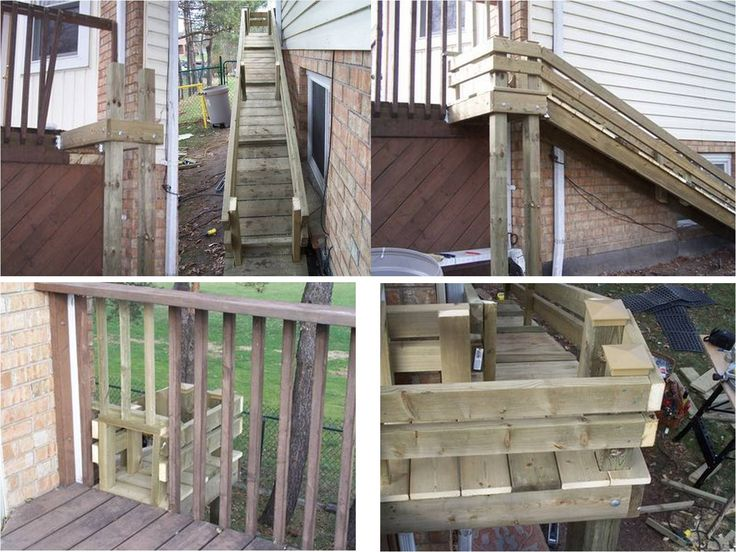 Dog ramp from deck dog ideas pinterest dog ramp dog for Lift furniture to second floor