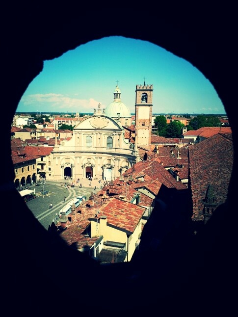 Ducale Square, Vigevano-Italy